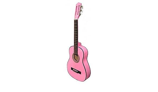 GUITARRA CLASICA INFANTIL Rocio (Cadete C7N) 1/2 (85 Cm.) Rosa ...