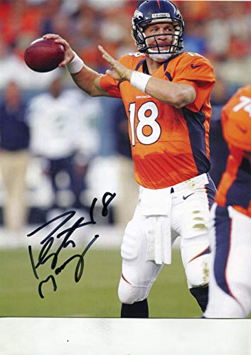 7e741557246 PEYTON MANNING   Denver Broncos signed 8x10 photo
