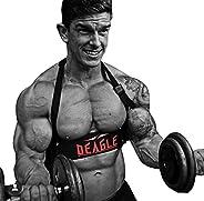 DEAGLE SPORTS Arm Blaster for Curl Bar Arm Biceps Triceps Dumbbells Barbells Bicep Isolator Strength Curling M