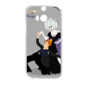 HTC One M8 White phone case Disney villains morgana little mermaid DSV2569953