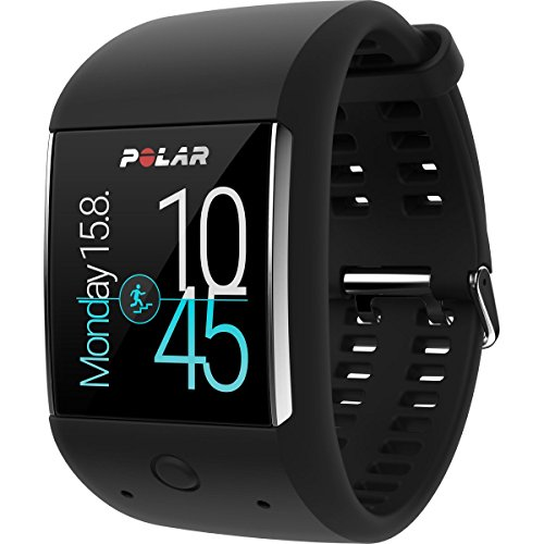 Polar M600 Strapless GPS Heart Rate Monitor Smart Watch Blac