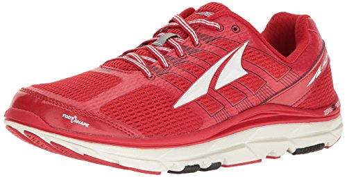 Altra Provision 3.0 Mens Road Running Shoe | Light Trail Running, Cross Training, Walking | Zero Drop Platform, FootShape Toe Box, Dynamic Support | Tackle Uneven Surfaces Naturally Red