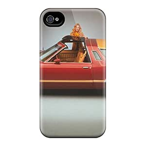 Tpu Case Cover Compatible For Iphone 4/4s/ Hot Case/ 78 Tbird