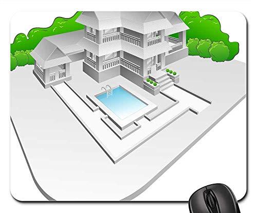 - Mouse Pads - Estate Villa Architecture Building Home House