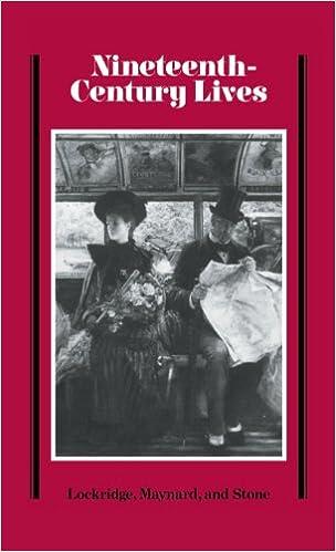 Nineteenth-Century Lives