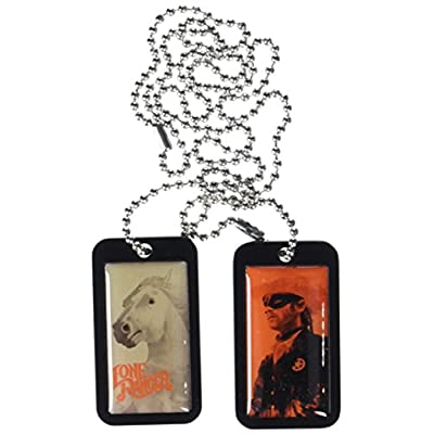 NECA The Lone Ranger Lone Ranger Dog Tags: Toys & Games