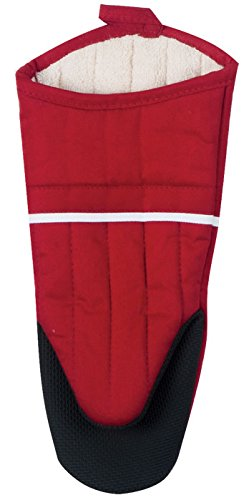 Kay Oven Mitt Designs Dee (Kay Dee Designs R6365 Necessities Terry Lined Oven Mitt with Neoprene Backing, Scarlet Red)