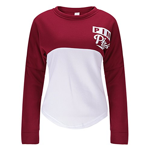 Chouette Pull Femme Manches Longues Sweatshirts Sweater Tops Blouse Sexy Casual Lache Basique