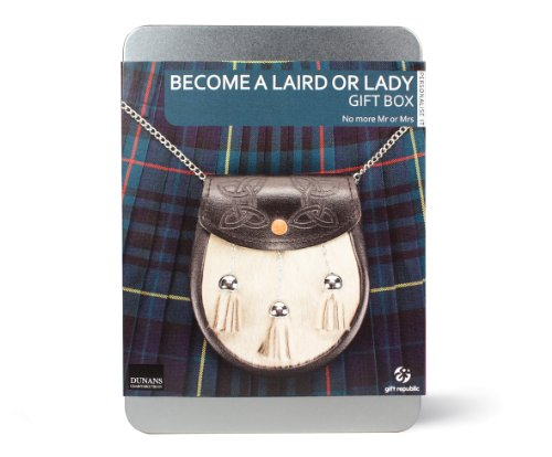 Gift Republic: Become a Laird or Lady Gift Box (GR100008) by Gift Republic
