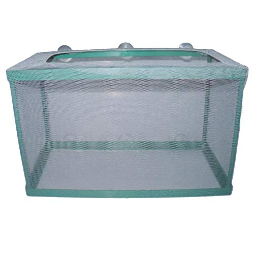 Yootop Aquarium Mesh Hatchery Breeder Plastic Frame Fish Tank Separation Breeding Net