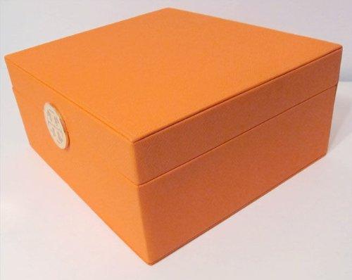Amazoncom Tory Burch Makeup Cosmetic Storage Jewelry Box Medium