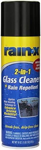 Rain-X DKO 5080233 Limpiador Vidrios con Tratamiento Antilluvia en Aerosol 2 en 1