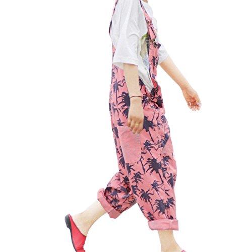 Casuale Overall Harem Busbana Denim Moda Della Colour Swag Baggy Strappato Francese Lunga Streetwear Eleganti Pantaloni Battercake Tendenza Latzhosenn Bicchierini Donne 6 Donna Primaverile Autunno qn0wRFCzT