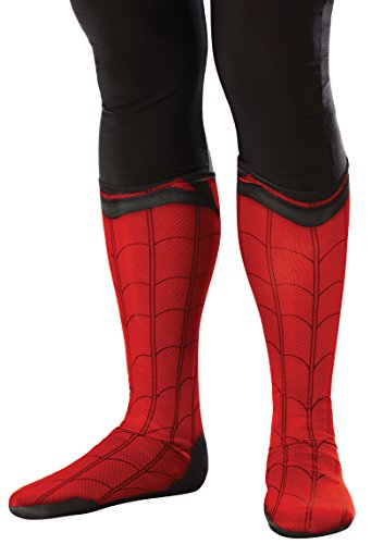 Rubie's Costume Men's Spider-Man Adult Costume Accessories, Homecoming, Boot Tops
