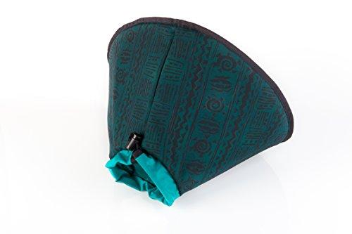Worlds Best E Collar Indian Green, X-L, 30cm by World's Best E-Collar