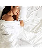 Bamtek 100% Organic Bamboo Bed Sheet Set, the coolest, softest sheets you will ever sleep on, King Size, Like Sleeping in a Cloud, Deep Pockets, 2 Pillow Cases, 1 Fitted Sheet, 1 Flat Sheet, Designed and Shipped from Australia.