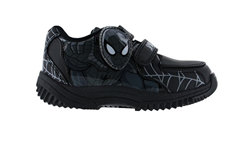 Spiderman BTS Black Trainers Various Sizes