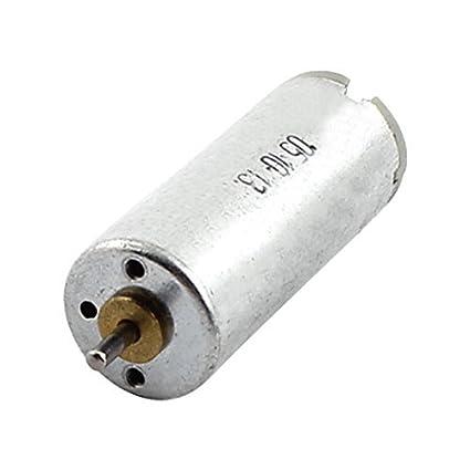 12 mm DC 3V 23800RPM velocidad del esfuerzo de torsión del motor eléctrico Dia cilíndricos - - Amazon.com