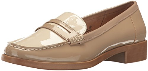 Aerosoles Women's Main Dish Penny Loafer, Tan Patent, 11 M US