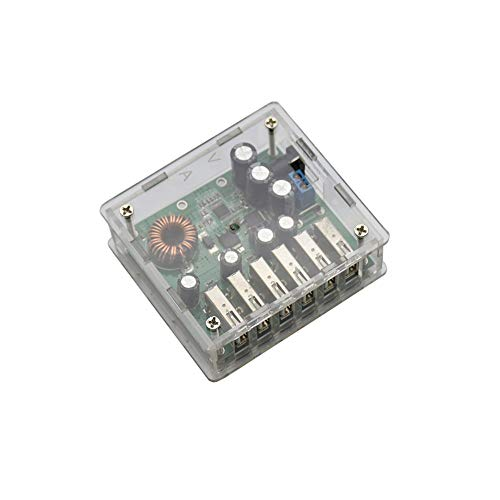 - Emily DC10-30V Buck 5V 6 USB Charger Module Automatic Identification Voltage Green
