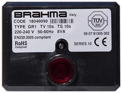 DOJA Industrial | Centralita BRAHMA TipoR1 10-10 | BRAHMA 1 llama, rearme a distancia