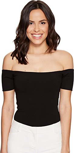 halston-heritage-womens-margaux-ribbed-jersey-bodysuit-black-s