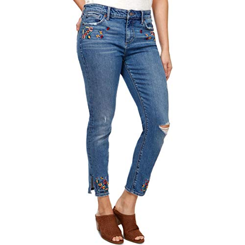 (Lucky Brand Women's MID Rise Embroidered AVA Skinny Jean in Macedonia, 26)