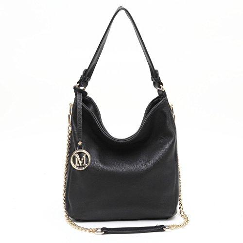 dddh-women-handbag-leather-hobo-handbags-shoulder-tote-bags-with-large-capacity-for-work-officeblack