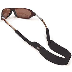 Chums Classic Neoprene Eyewear Retainer, Black (3 Pack)