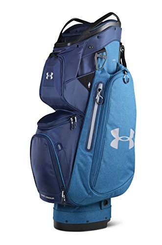 Under Armour Storm Armada Cart Golf Bag (Bayou Blue Heather/Academy)