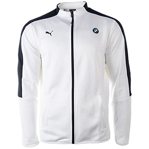 Puma BMW MOTORSPORT T7� TRACK JACKET - Puma White - Mens - S