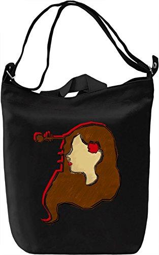 Graphic Amy Borsa Giornaliera Canvas Canvas Day Bag| 100% Premium Cotton Canvas| DTG Printing|