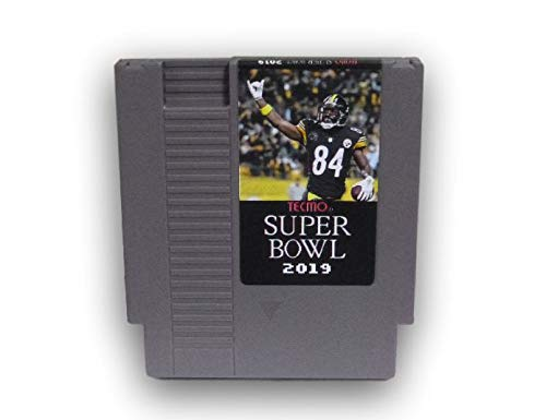 (Tecmo Super Bowl 2019 Version Cartridge Video Game for NES)