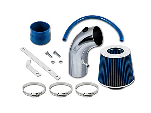 - Velocity Concepts Blue Short Ram Air Intake Kit + Filter 01-09 For Chrysler PT Cruiser All Model with 2.4L Non-Turbo 4-cyl