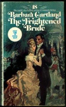 The Frightened Bride (The Bantam Barbara Cartland Library #18)