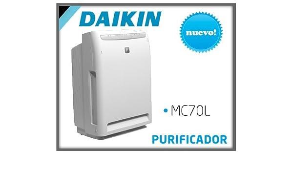 Daikin MC70L 16dB Color blanco - Purificador de aire (420 m³/h, 16 ...