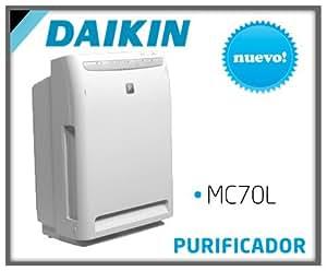 Daikin MC70L 16dB Color blanco - Purificador de aire (420 m³/h, 16 dB, 46 m³, Color blanco, 220-240, 403 mm)