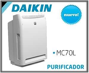 Daikin MC70L 16dB Color blanco - Purificador de aire (420 m³/h, 16 dB, 46 m³, Color blanco, 220-240, 403 mm): Amazon.es: Hogar