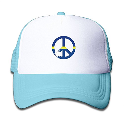 Alin-Z Nauru Flag Peace Mesh Hats Trucker Hats Adjustable Baseball Cap for Boys Girls (Pro Sharpening Stone Stone)