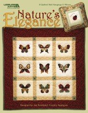 Nature's Elegance: 8 Quilted Wall Hangings & Pillows ()