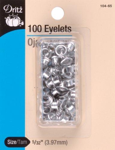 Eyelets 5//32 100//Pkg-Nickel 1 pcs sku# 650783MA
