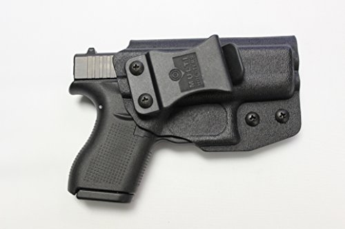 Multi Holsters Elite Glock 42 IWB FOMI Right Hand Holster (Black Calcutta)