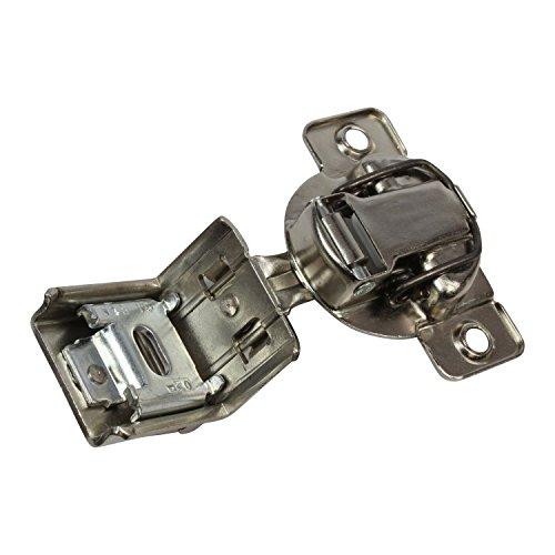 "50 Grass 108 Deg 1-1//2/"" Overlay Soft Close Screw Compact Cabinet Hinge 04549A-15"