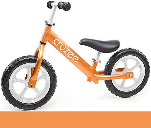 "Cruzee UltraLite 4.2 lbs Balance Bike 12"" For Ages 18 Months"