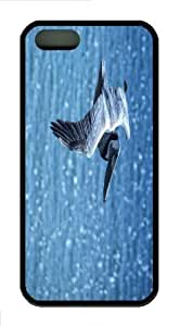iPhone 5S Customized Unique Pelican New Fashion TPU Black iPhone 5/5S Cases - Scenery Flowers