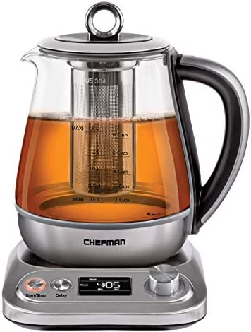 Chefman PerfecTea Programmable Electric Glass product image
