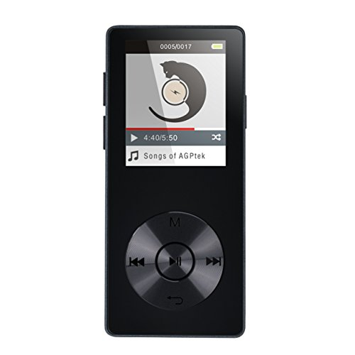 AGPtEK 16GB Portable MP3 Player, Music Player/Voice Recorder