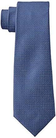 Calvin Klein Men's Silk Tie, Blue, 6.5 Cm
