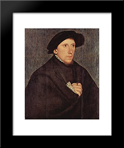 (Henry Howard, Earl of Surrey 20x24 Framed Art Print by Hans Holbein the Younger)