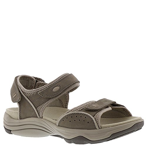 Clarks Wave Grip Women's Sandal 10 C/D US Sage-Nubuck by CLARKS
